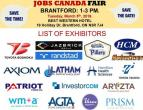 Brantford Job Fair - March 5th, 2019, st-catharines